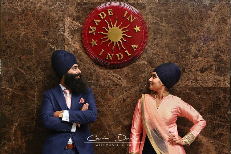 Indian Wedding Photography Ludhiana Punjabi Marriage Pictures Jalandhar Anand Karaj Sikh Wedding Portraits Punjab 01