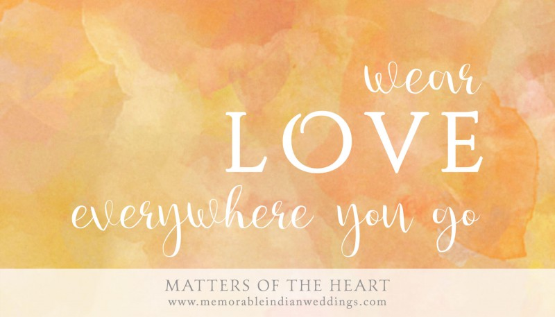wear love everywhere you go Colossians 3:14 - Bible verse
